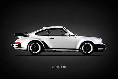 Classic Car Photograph - The 911 Turbo 1984 by Mark Rogan