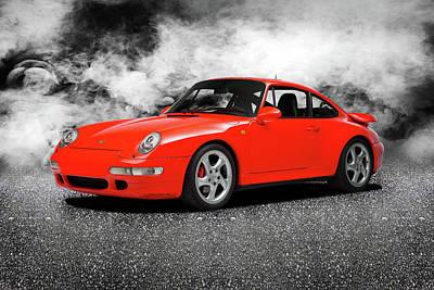 Photograph - The 911 Turbo 993 by Mark Rogan
