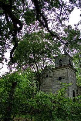 Photograph - The Abandoned Church by George Taylor
