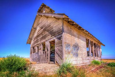 Abandoned Structures Photograph - The Abandoned School House by Spencer McDonald
