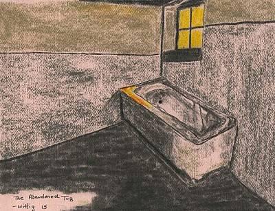 The Abandoned Tub Original by Robert Wittig