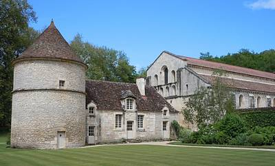 Marilyn Photograph - The Abbey De Fontenay by Marilyn Dunlap