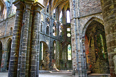 Photograph - The Abbey by Ingrid Dendievel
