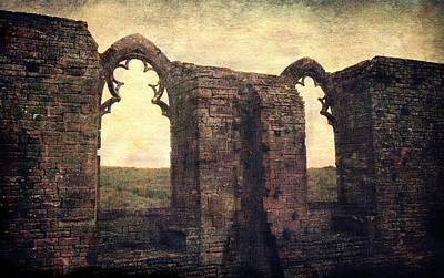 Photograph - The Abbey Ruins by Vittorio Chiampan