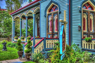 Lovely Lavender - The Abbey Cape May Victorian  by David Zanzinger