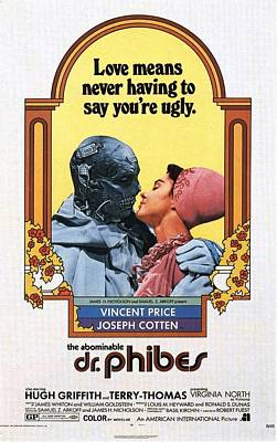 The Abominable Dr. Phibes  Art Print by Movie Poster Prints