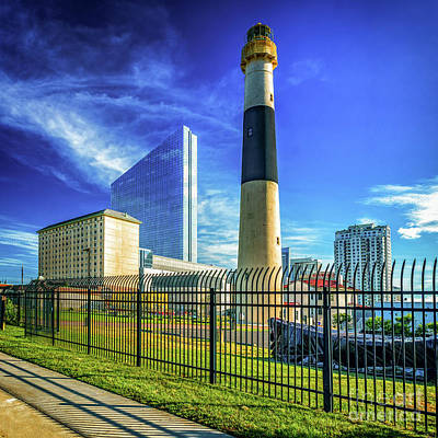 Photograph - The Absecon Lighthouse In New Jersey by Nick Zelinsky