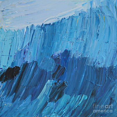 The Abstract Blues Original by Robert Yaeger