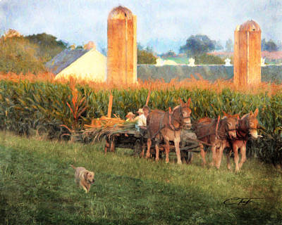 The Abundant Harvest Art Print