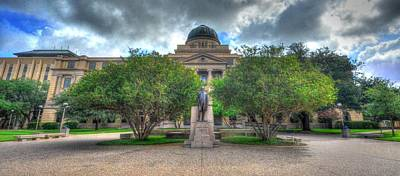 Photograph - The Academic Building by David Morefield
