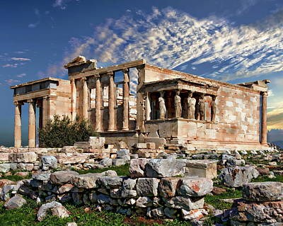 Photograph - The Acropolis by Anthony Dezenzio