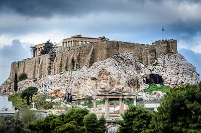 Photograph - The Acropolis - Athens Greece by Debra Martz
