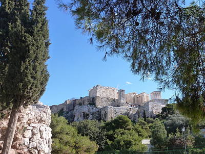 Photograph - The Acropolis by Constance DRESCHER