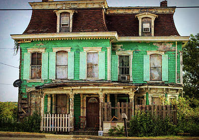 Photograph - The Addams Familyhouse by Roberta Byram