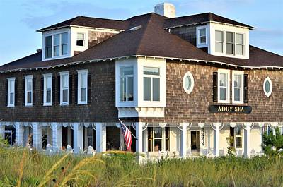 Photograph - The Addy Sea Hotel - Bethany Beach Delaware by Kim Bemis