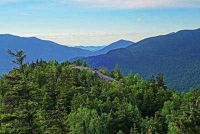 Photograph - The Adirondacks Through The Brothers Big Slide Mountain Keene Valley Ny by Toby McGuire