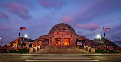 Photograph - The Adler Planetarium  by Ron Pate