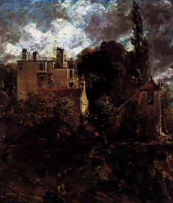 Painting - The Admiral House The Grove 1823 by Constable John