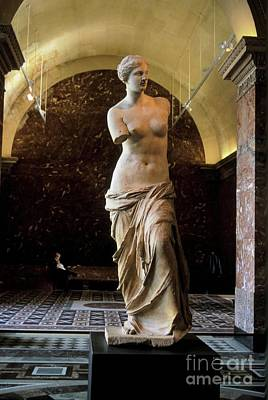 Venus De Milo Photograph - The Admirer by Chris Brewington Photography LLC