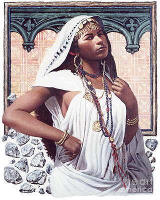 Painting - The Adulteress - Lgadu by Louis Glanzman