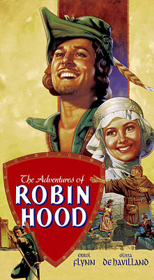 1938 Movies Photograph - The Adventures Of Robin Hood, Errol by Everett