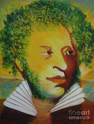 Painting - The Afrocentricity Of Pushkin by David G Wilson