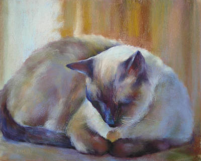 Painting - The Afternoon Nap by Karen Margulis