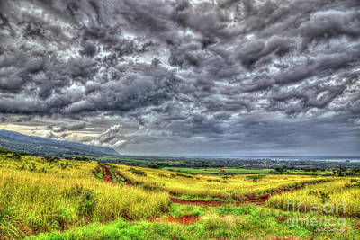 Photograph - The Afternoon Storm Waialua North Shore Oahu Hawaii Collection Art by Reid Callaway