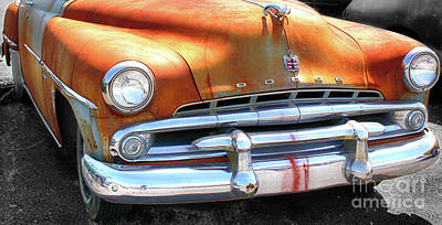 The Age Of Dodge  Art Print by Steven Digman