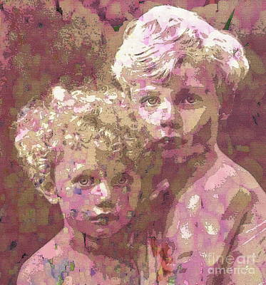 Painting - The Age Of Innocence by Saundra Myles