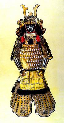 Painting - The Age Of The Samurai  by Dora Hathazi Mendes