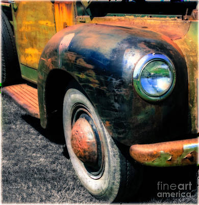 Old Trucks Photograph - The Age Of Trucks  by Steven Digman