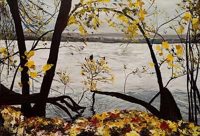 Base Path Painting - The Ah Ha Moment by Rachel Brisbois
