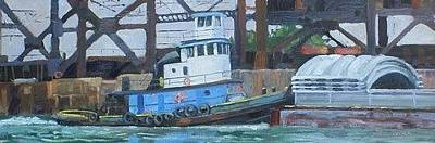 Painting - The Aiden William Working The Calumet by Todd Derr