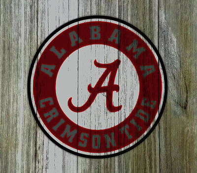 The Alabama Crimson Tide C2             Art Print by Brian Reaves