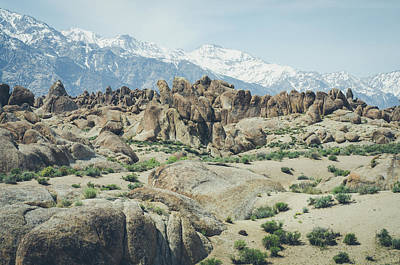 Photograph - The Alabama Hills by Margaret Pitcher