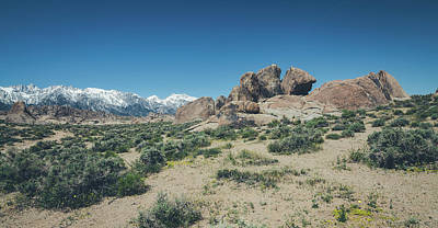 Photograph - The Alabama Hills No.3 by Margaret Pitcher