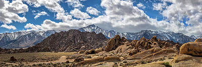 Photograph - The Alabama Hills by Peter Tellone