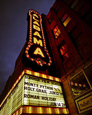 Photograph - The Alabama In Lights by Just Birmingham