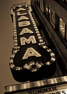 Photograph - The Alabama by Just Birmingham