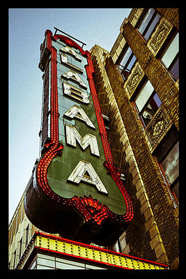 Photograph - The Alabama Poster by Just Birmingham