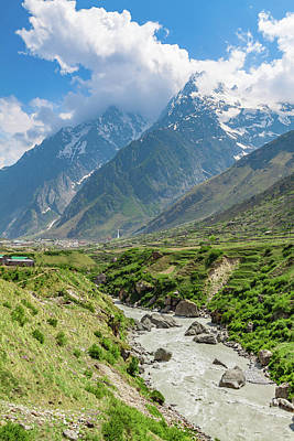 Photograph - The Alakananda River In The Indian Himalayas by Nila Newsom