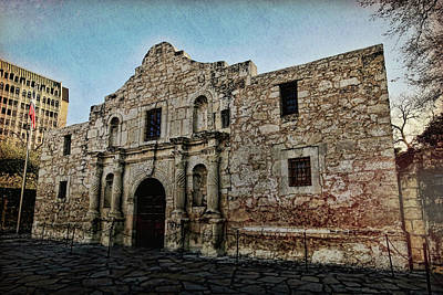 Photograph - The Alamo 1 by Judy Vincent