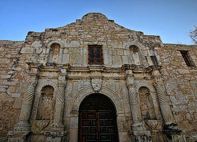Photograph - The Alamo 3 by Judy Vincent