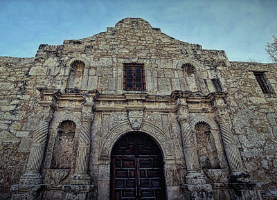 Photograph - The Alamo 4 by Judy Vincent