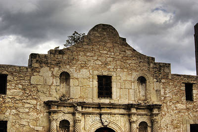 Photograph - The Alamo by Jim and Emily Bush