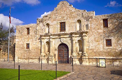 Photograph - The Alamo by Kristina Deane