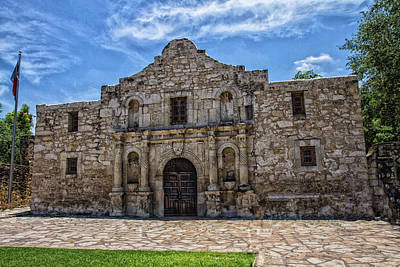 Photograph - The Alamo by Robert Hebert