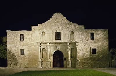 The Alamo, San Antonio, Texas. It Art Print by Everett