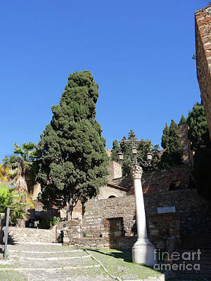 Photograph - The Alcazaba Of Malaga In Andalucia Spain by Brenda Kean